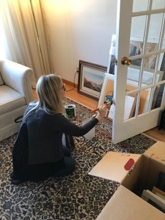 Linda Staging Painting